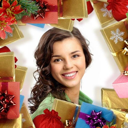 Christmas Presents Frame