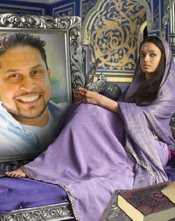 Free photo frame with Aishwarya Rai